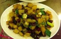 土豆炒脆哨